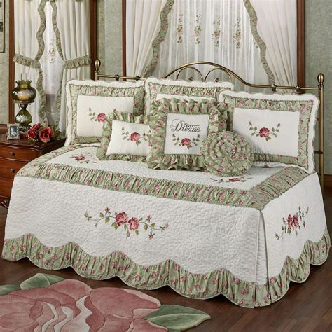 Day Bed Comforter Sets Cordial Garden 4 Pc Floral Daybed Bedding Set