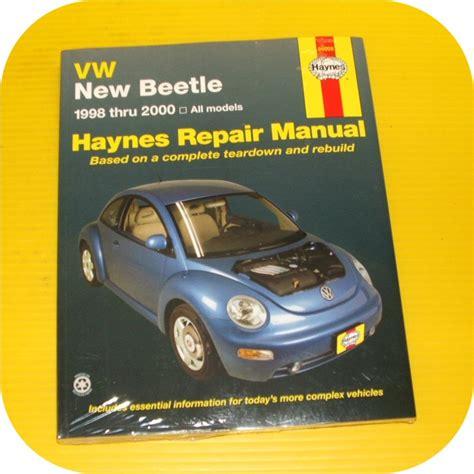 book repair manual 2000 volkswagen new beetle security system repair manual book vw beetle volkswagen owners workshop ebay