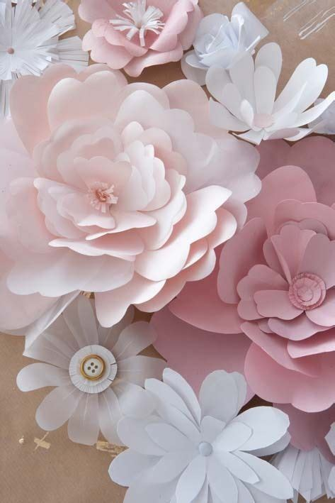 Big Paper Flowers - 25 best ideas about paper flowers on
