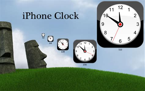 themes clock iphone iphone clock by wrecklesspunk on deviantart