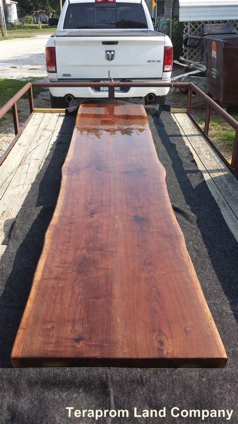 live edge bar top handmade 13 long live edge walnut bar top by teraprom