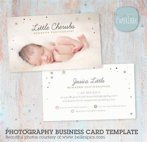 business card template etsy photography business card photoshop template vg016
