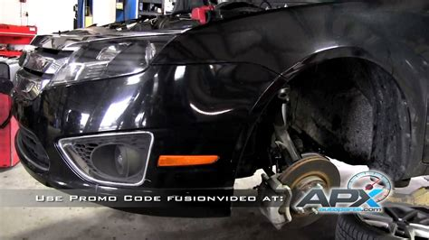 replace rear shocks ford fusion youtube replacement of front struts on a 2011 ford fusion sensen shocks and struts youtube