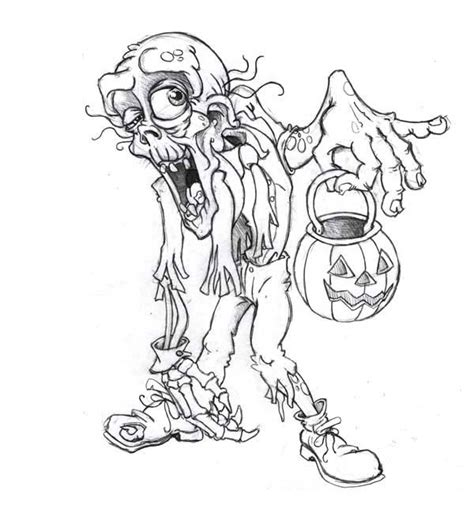 scary zombie halloween coloring pages pinterest o the worlds catalog of ideas zombie coloring