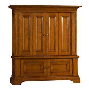 Solid Wood Hutch Entertainment Cabinet From Sligh