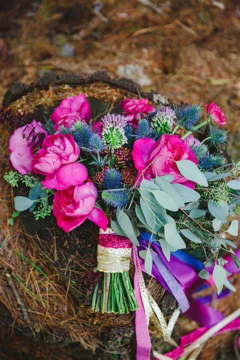 Fall bohemian jewel toned wedding inspiration   100 Layer Cake