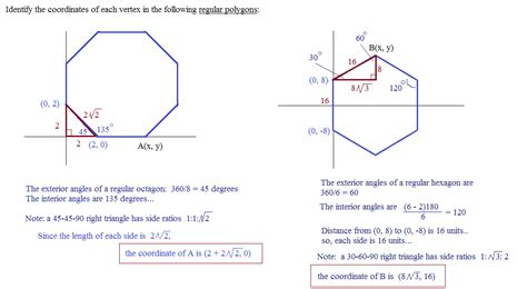 Polygons Exterior And Interior Angles by Math Plane