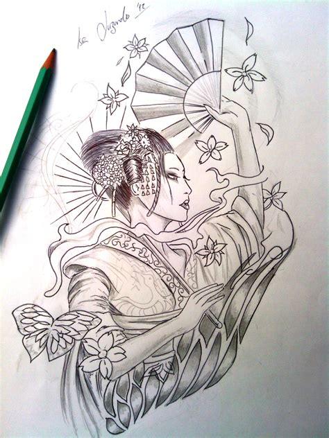 imagenes de tatuajes de geishas bocetos personalizados 625988761 jericobaby le bon