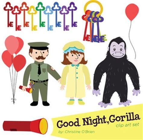 good night gorilla 1405263768 quot good night gorilla quot clip art set use to accompany the