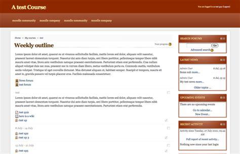Moodle Theme Brick | moodle plugins directory brick