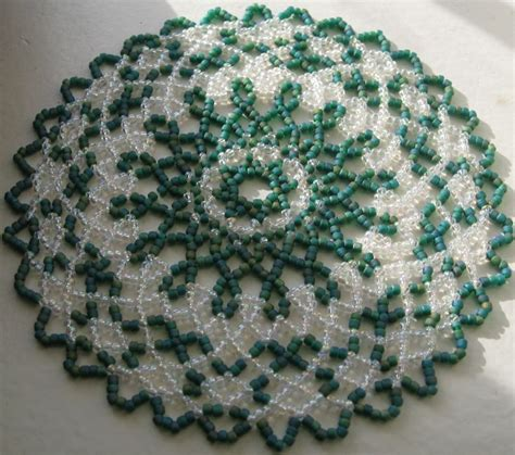 seed bead crafts free seed bead patterns for doilies search