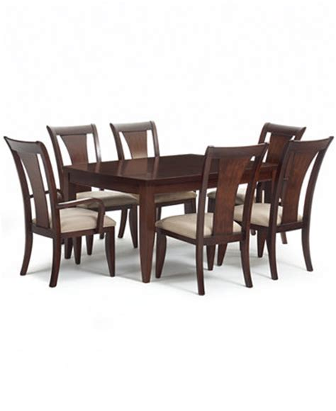 Dining Room Sets Macys Metropolitan Contemporary 7 Dining Room Furniture