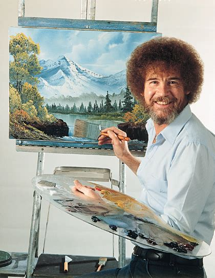 bob ross painting easel happy programmers lessons i learned from bob ross