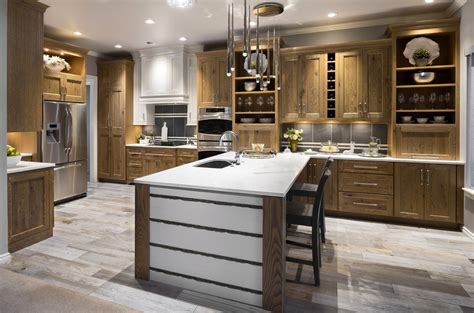Knotty Oak Kitchen Cabinets Knotty Oak Perfection Edmond Edmond Kitchen Bath Llc