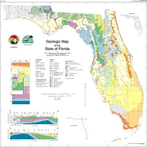 florida geological survey sinkhole map florida geology enchanted forest nature sanctuary