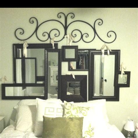 Diy Mirrored Headboard by New Creation Mirror Headboard I Want This