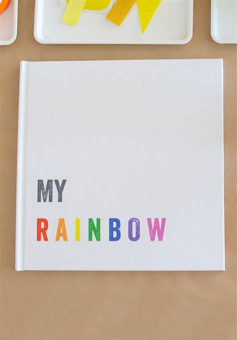 my rainbow books process rainbow book meri cherry
