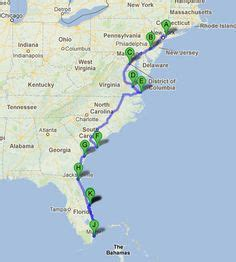 map of the us east coast beaches road trips on gatlinburg tennessee