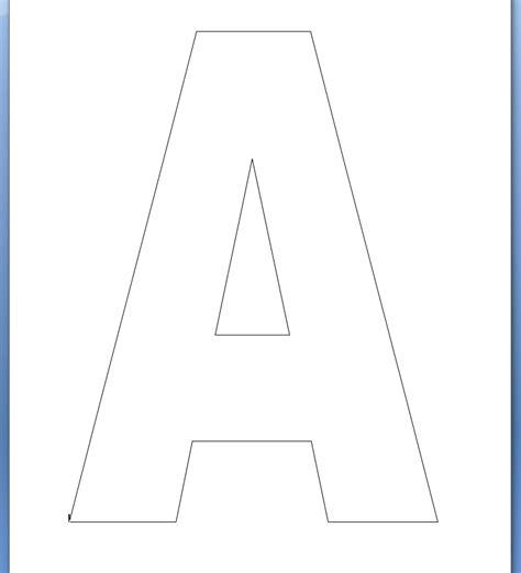 printable uppercase alphabet uppercase letter a