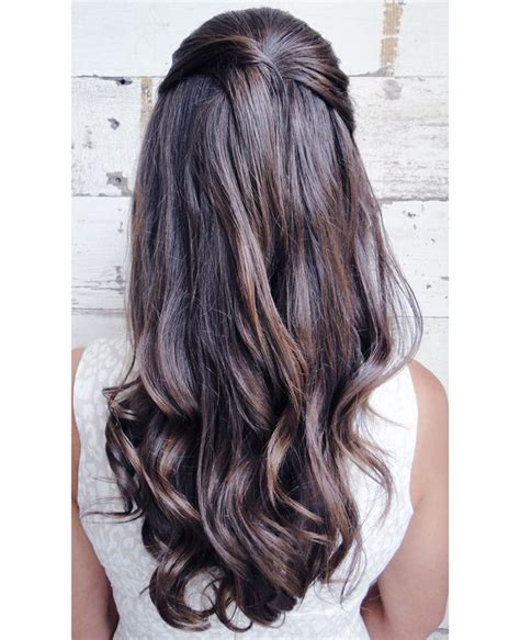 American Hairstyles For Wedding Guests by S Pretty Half Up Wedding Hairstyle