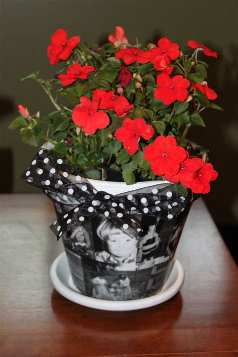 diy mod podge flower pot diy 10 s day flower pot saver savvy