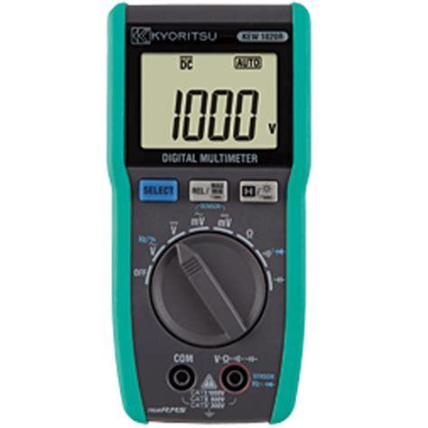 Murah Digital Multimeter Kyoritsu 1021r True Rms meter digital jual alat ukur murah garansi resmi distributor
