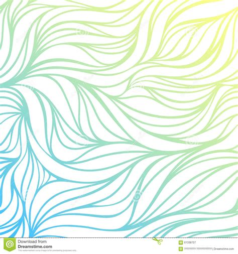 drawing a vector wave vector color drawing wave sea background blue
