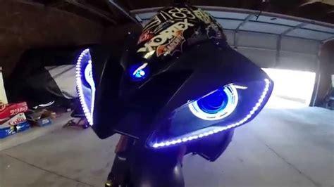 Led Strip Lighting Tape Tuning Headlight Upgrade Drl Led Light Strips For Bikes