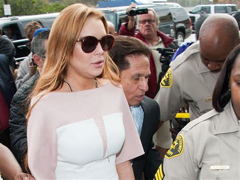 Lindsay Lohan Is Committed To Rehab by Lindsay Lohan S Probation In Jeopardy After Rehab
