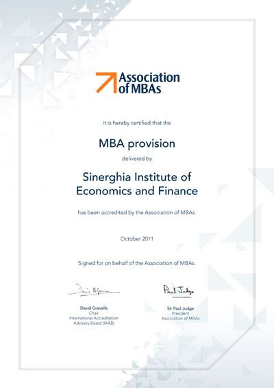 Amba Mba by московский финансово промышленный университет Quot синергия