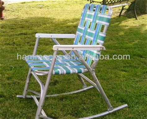 sun tanning lawn chairs vintage aluminum folding webbed rocker chair lawn sun