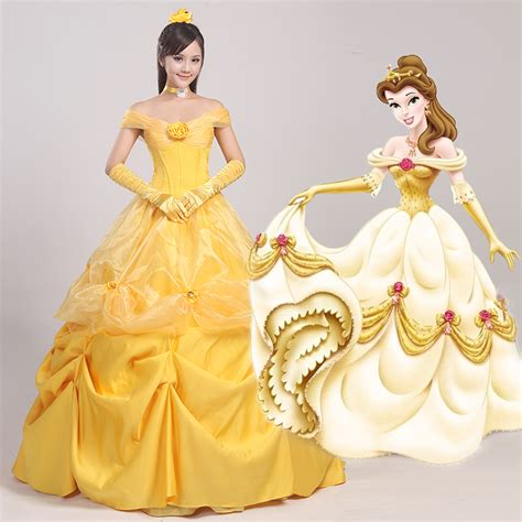 ten beauty and the beast dresses inspired by belle s cosplay women s the beauty and beast princess belle dress
