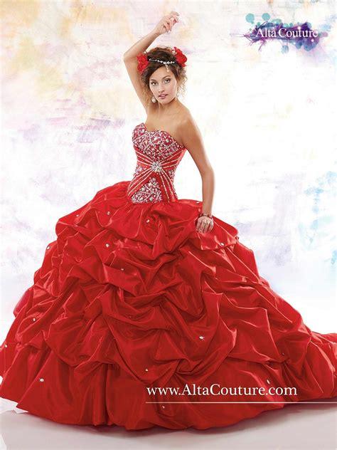 marys  quinceanera dress taffeta pick  skirt