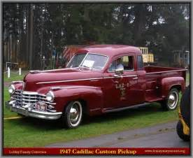 What Is The Cadillac Truck Called 1948 Cadillac Genuine Article