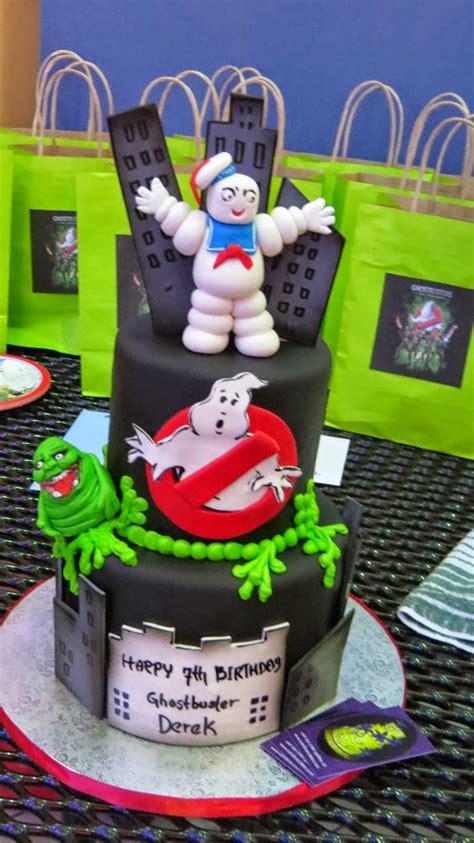 Vlo Birthday Cake ghostbuster theme birthday derek s 7th birthday