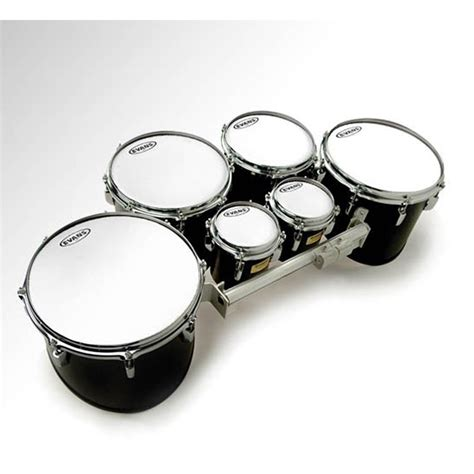 6 Mx White Marching Tenor Tt06mxw 10 quot mx marching tenor white drums on sale