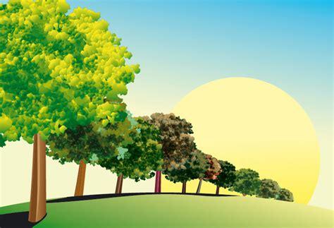 Vector Tree Tutorial | illustrator tutorial how to create a vector tree