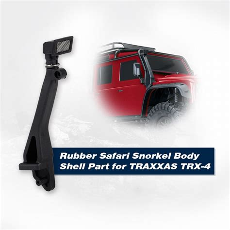 Rc Car Yeah Racing Rubber Safari Snorkel For Tamiya Hilux High Lift rubber safari snorkel shell part for 1 10 traxxas trx