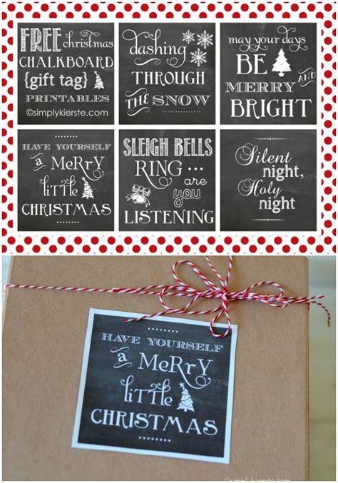 free printable chalkboard christmas gift tags christmas chalkboard gift tag printables simplykierste com