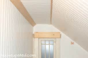 How To Cut Beadboard Panels - diy how to install beadboard on walls and ceilings house updated