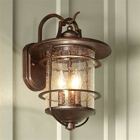 franklin iron works casa mirada 16 1 4 quot high outdoor light 51238 ls plus