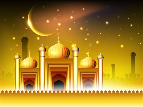 design masjid photoshop vector islamic style background set 02 vector background