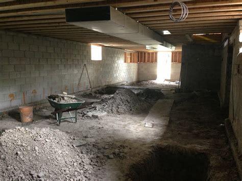 lowering basement floor cost glamorous lowering a basement