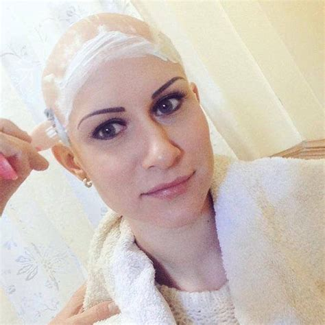 sexy woman goes bald 17 best images about bald fetish on pinterest male