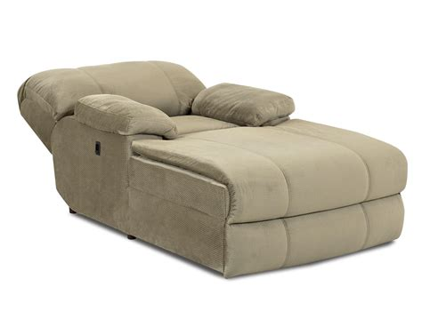 modern home theater chaise console reclining brown indoor oversized chaise lounge kensington reclining