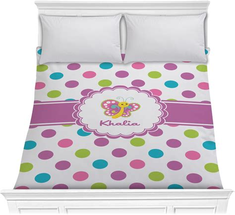 polka dot comforter queen polka dot butterfly comforter full queen personalized