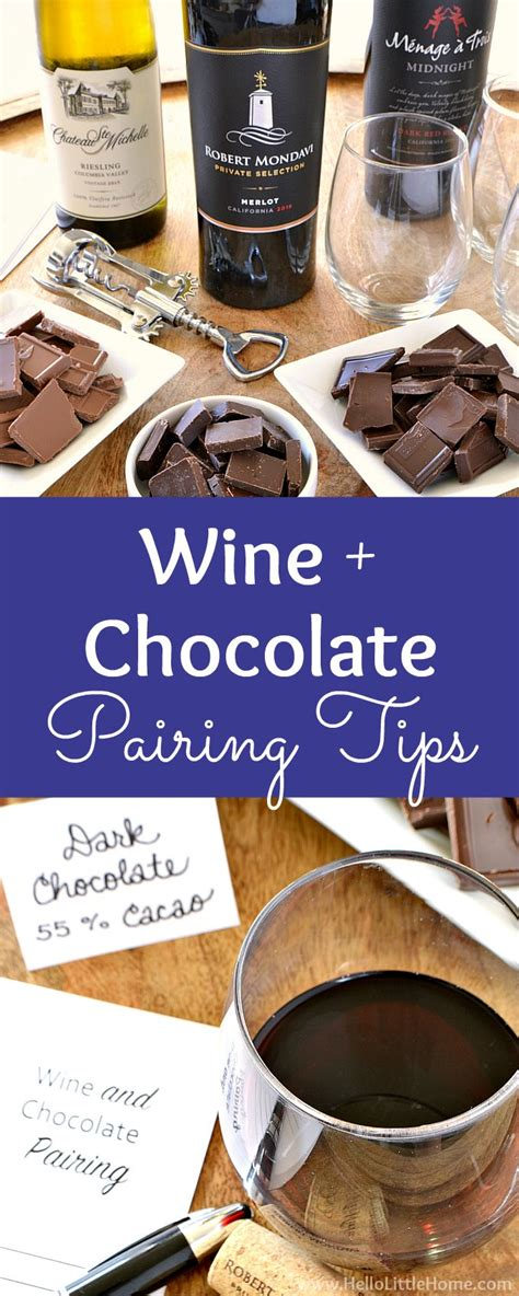 7 Tips For Chocolate by Easy Wine And Chocolate Pairing Tips Hello Home