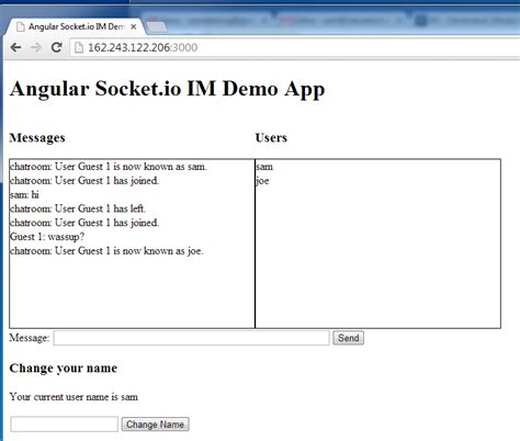 git tutorial html5 html5 rocks chat app demo socket io angularjs 4u