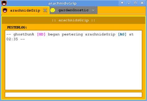 homestuck chat rooms pesterchum handles