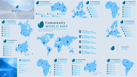 template after effects map map world map kit generator for business corporate